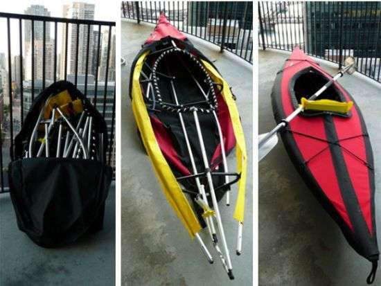Boat In A Bag Folbot Edisto S Folding Kayak Lets You