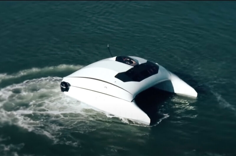 Efficient Dynamically Designed Boats