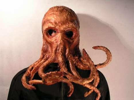 Creepy Squid Masks