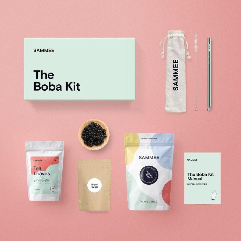 At-Home Bubble Tea Kits