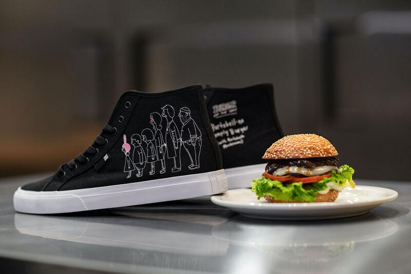 Cartoon-Themed Skater Shoes