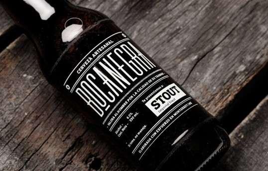 Boyish Typographic Booze Branding