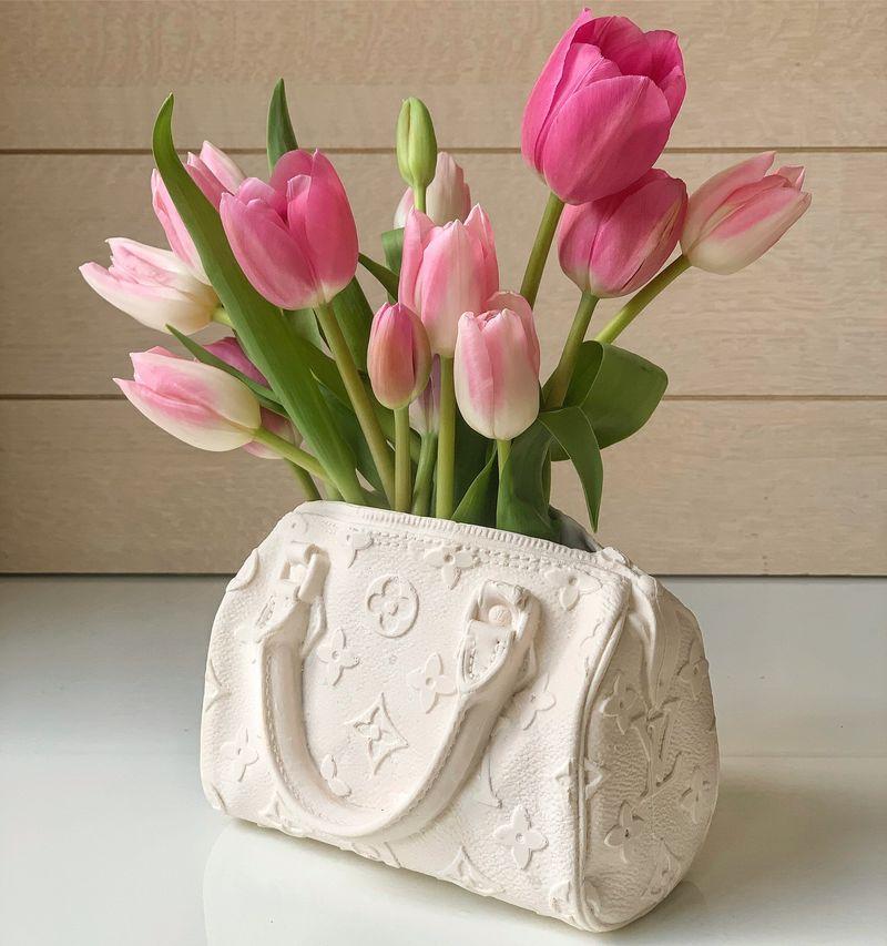 Handbag-Shaped Flower Vases