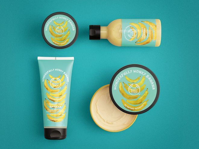 Repurposed Banana Body Products - This Limited Body Shop Body Butter Upcycles