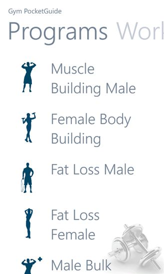 Encyclopedic Bodybuilding Apps