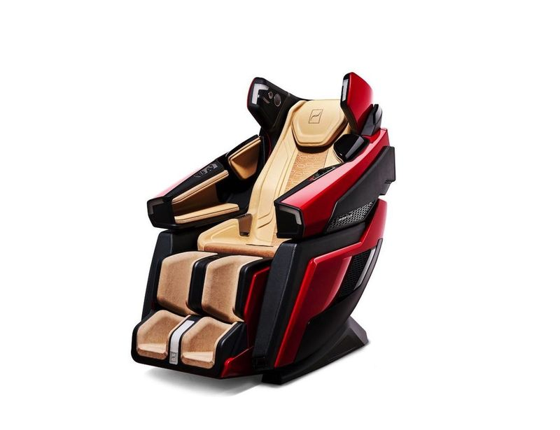 Sports Car-Inspired Massage Chairs