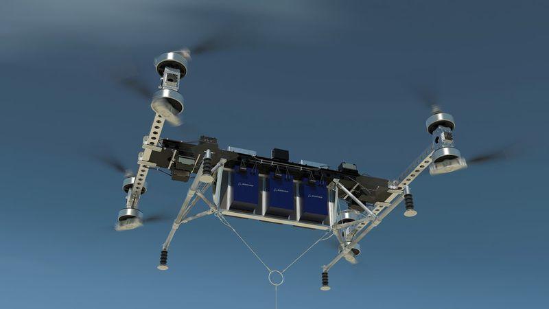 Heavy-Haul Cargo Drones