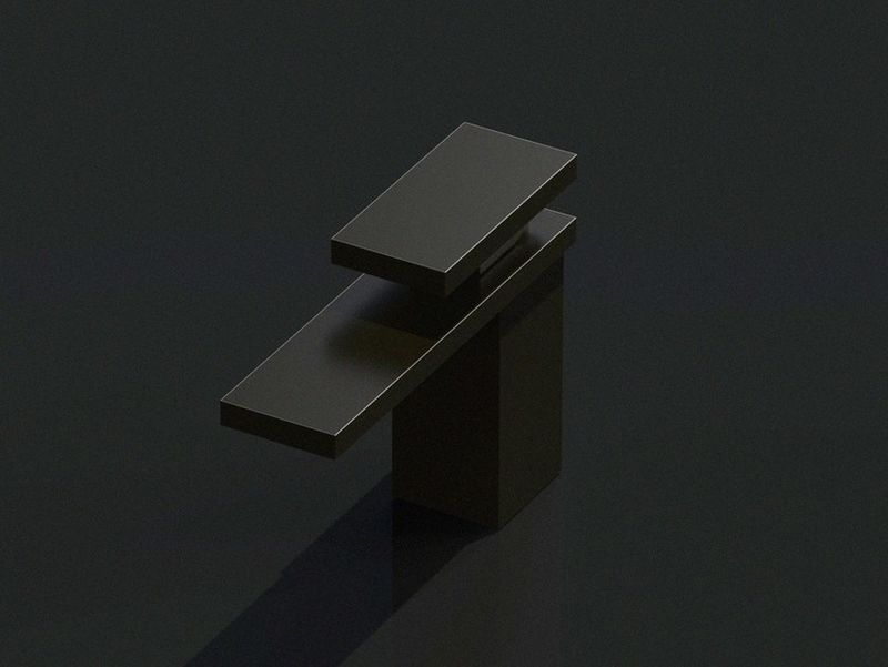 Dark Matte Bathroom Taps