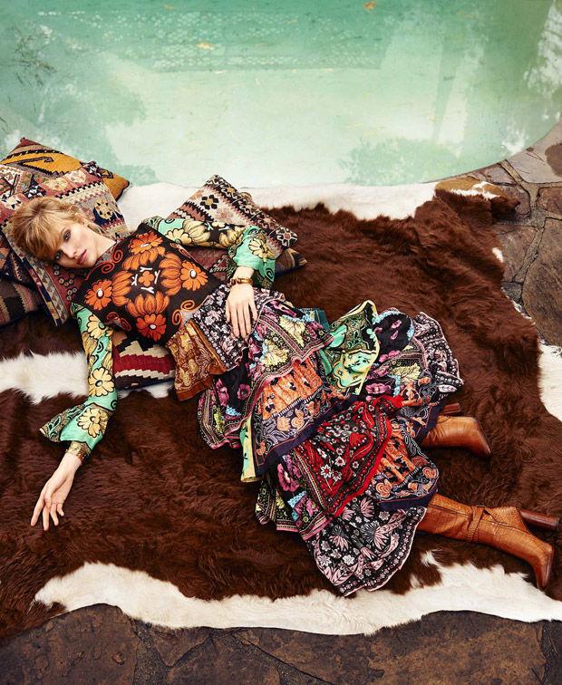 Printed Bohemian Fashion