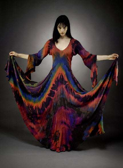 Bohemian Tie-Dyed Fashion