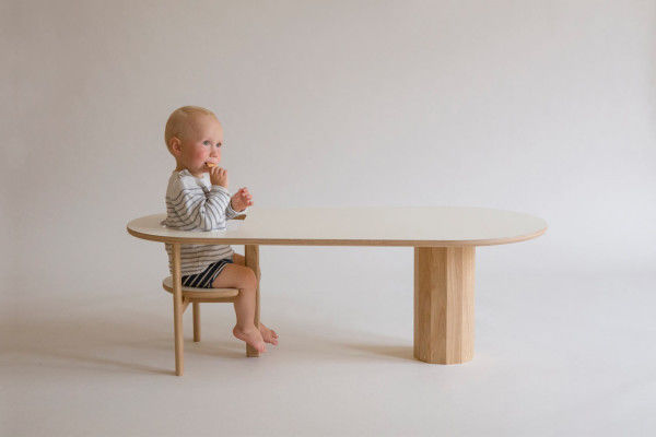 Baby-Holding Coffee Tables