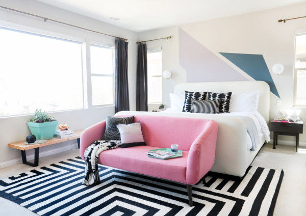 Bold Geometric Bedrooms