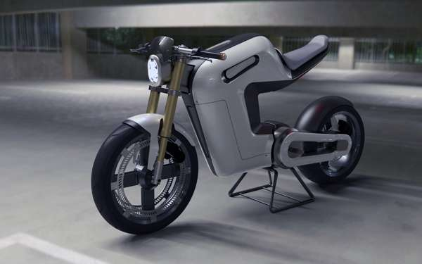 Green Cafe Racers Bolt Electric Bike