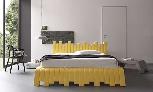 French Fry Furnishings Bolzan Letti Cubed Bed