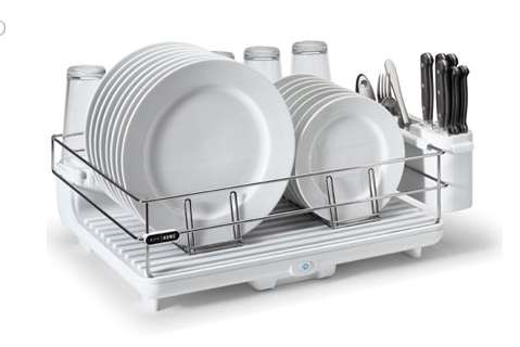 750W Drying Racks bon home heat & dry dish rack
