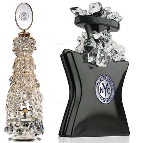 Crystallized Fragrance Bottles