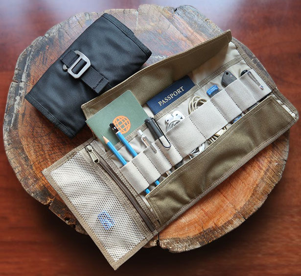 Rugged Roll-Up Travel Packs