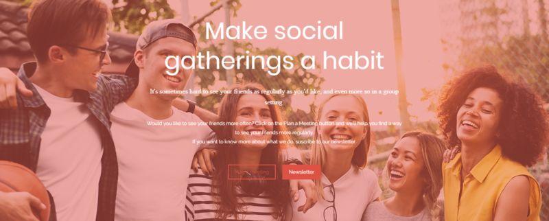 Habitual Social Activity Platforms