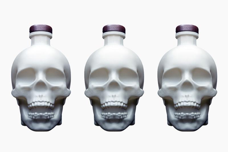 Bone-Mimicking Vodka Bottles