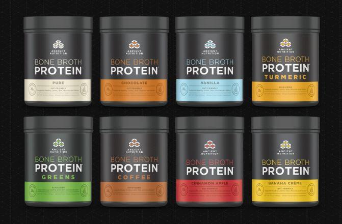 Bone Broth Protein Powders