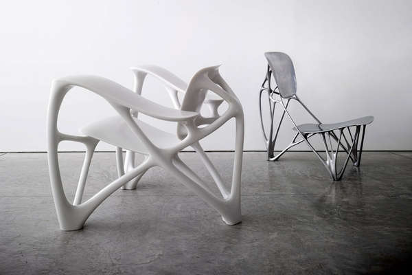 Exceptional Organic Skeletal Seating