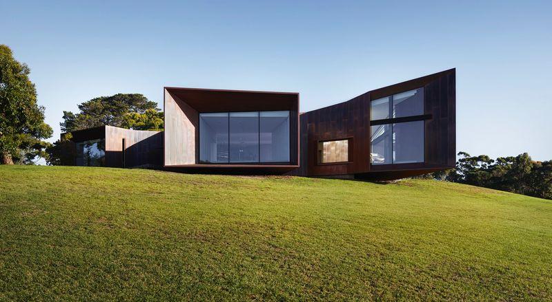 Copper-Skinned Residences