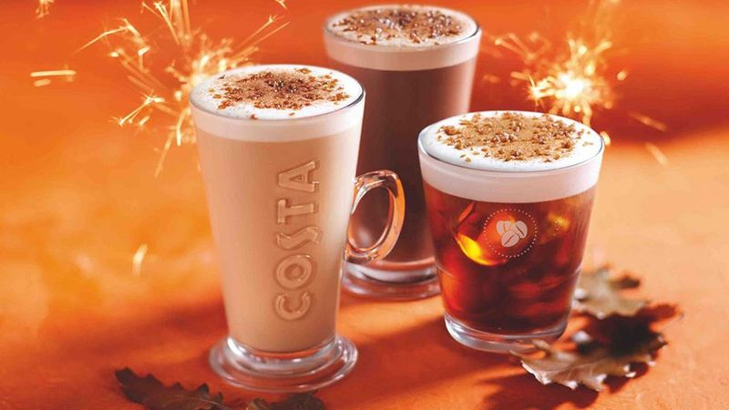 Bonfire-Spiced Fall Lattes