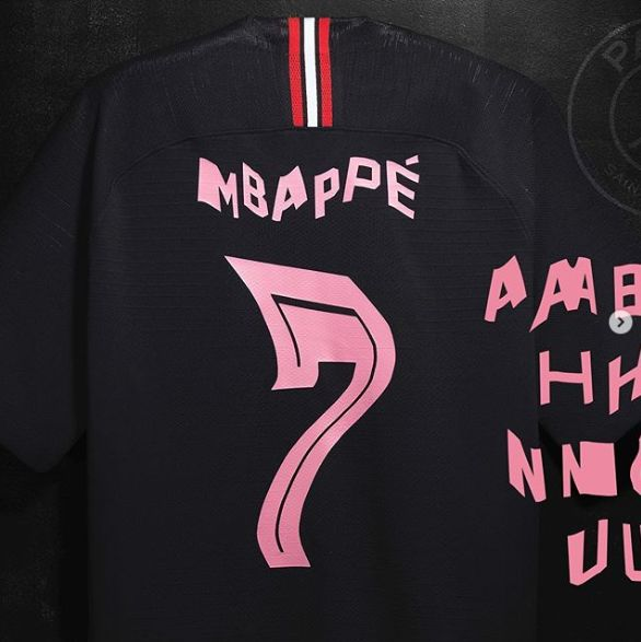 Distorted Textual Soccer Jerseys