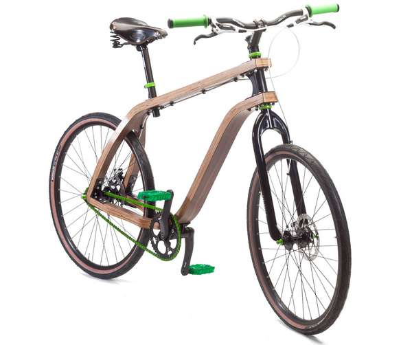 Wooden Two-Wheelers