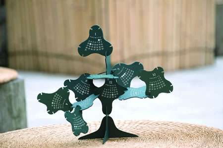 Arboreal Calendars The Bonsai Calendar Lets You Build And Shape The Months Of The Year