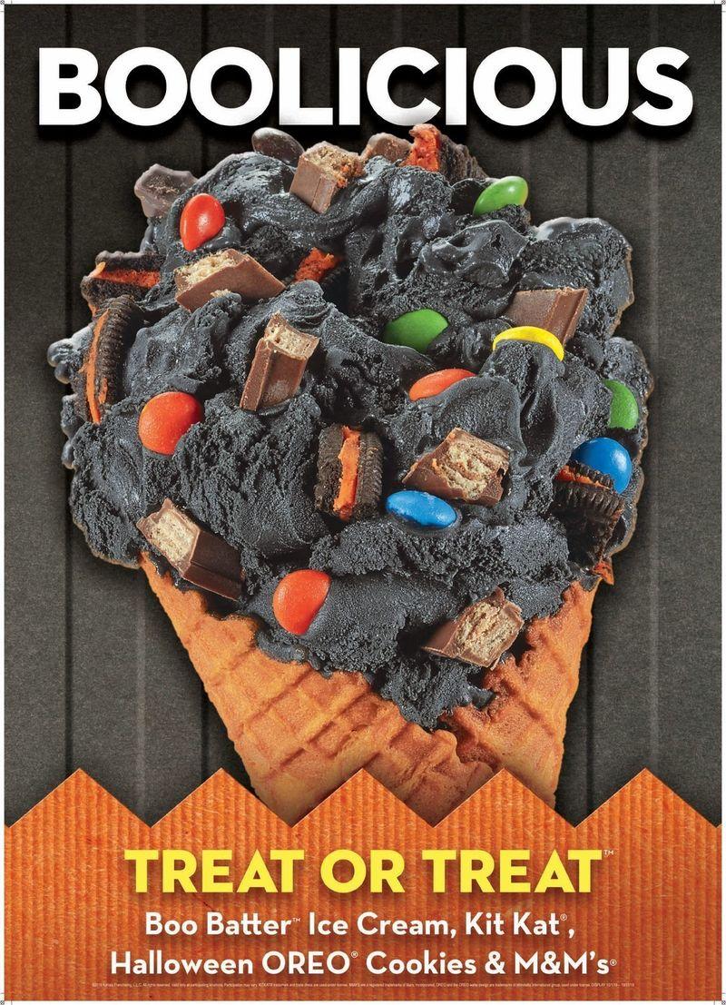 Ghoulish Halloween Ice Creams