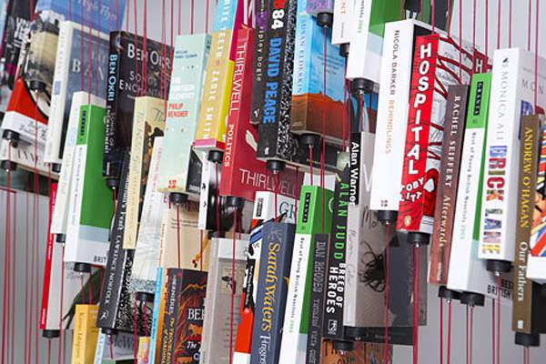 Anti-Gravity Book Displays