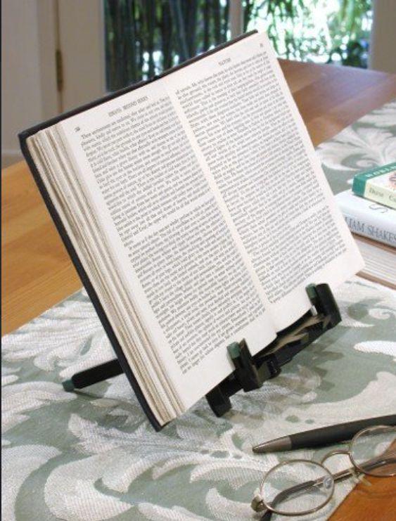 Comfort-Enhancing Book Holders