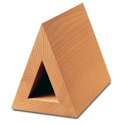 Triangular Wooden Bookmarks