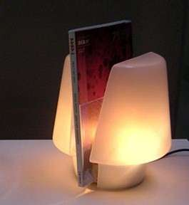 Book Lamp Stand