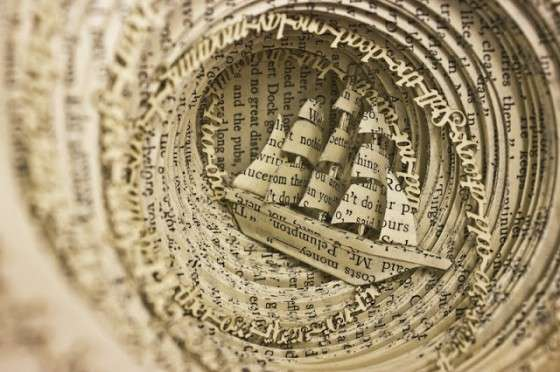 Disorder-Inspired Book Sculptures
