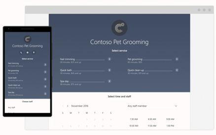 Online Scheduling Platforms