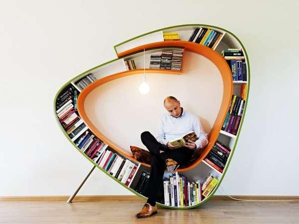 Contemporary Bookshelves 101 curiously contemporary bookshelves