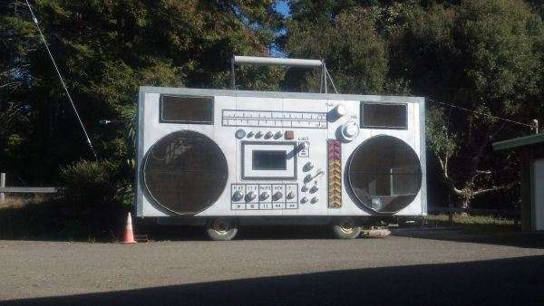 Vintage Boombox Vehicles