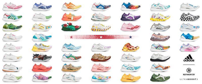 Patriotic Female-Designed Sneakers