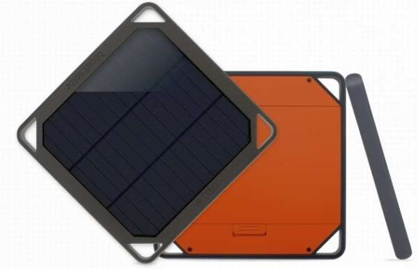 Solar-Powered Device Chargers