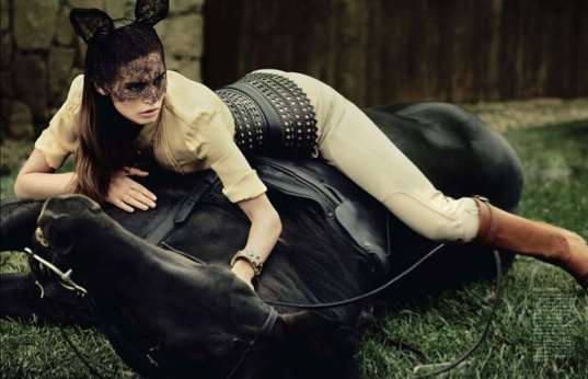 Ebony Equestrian Editorials