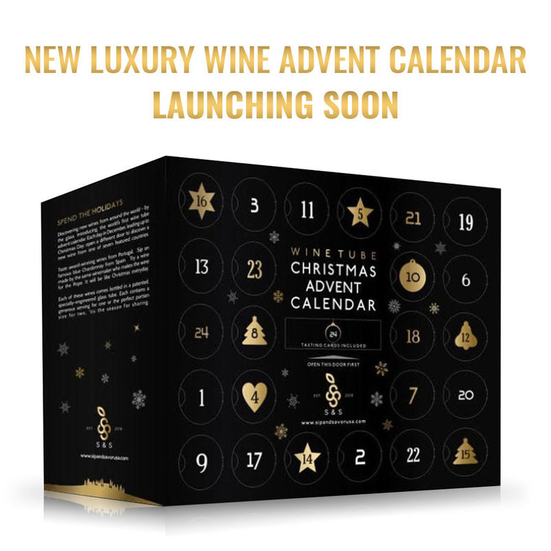 Pre-Portioned Wine Advent Calendars
