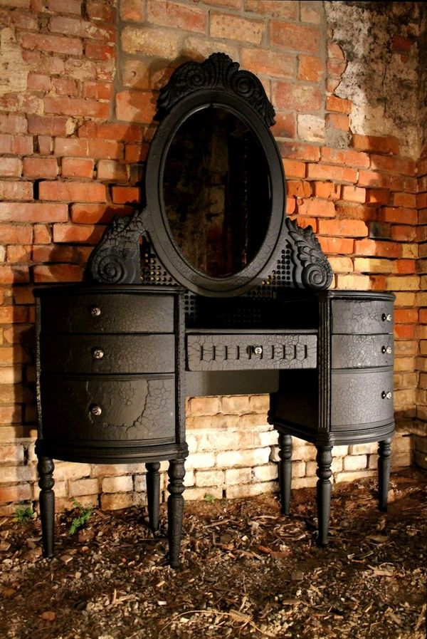 Charred Baroque Furniture