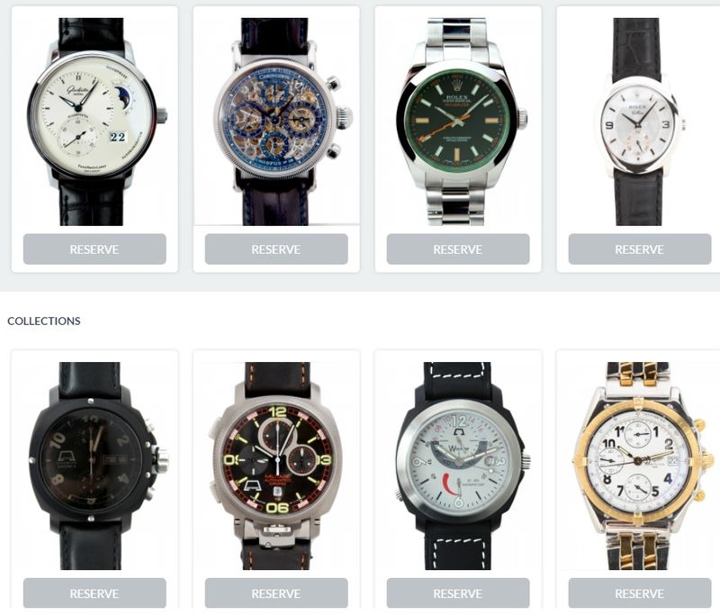 Luxury Watch Rental Sites