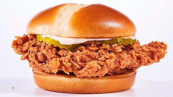 Hand-Breaded Chicken Sandwiches