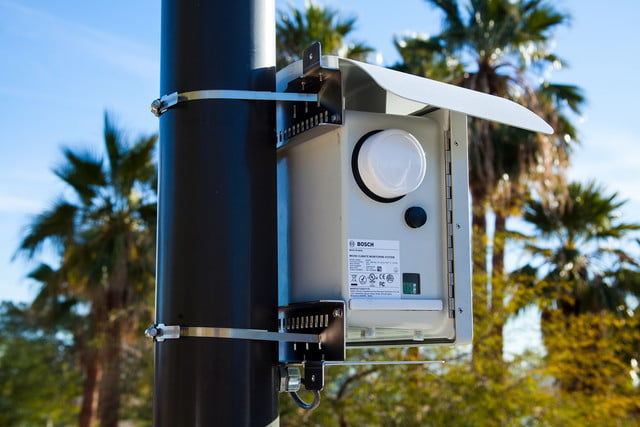 Outdoor Pollution-Monitoring Sensors