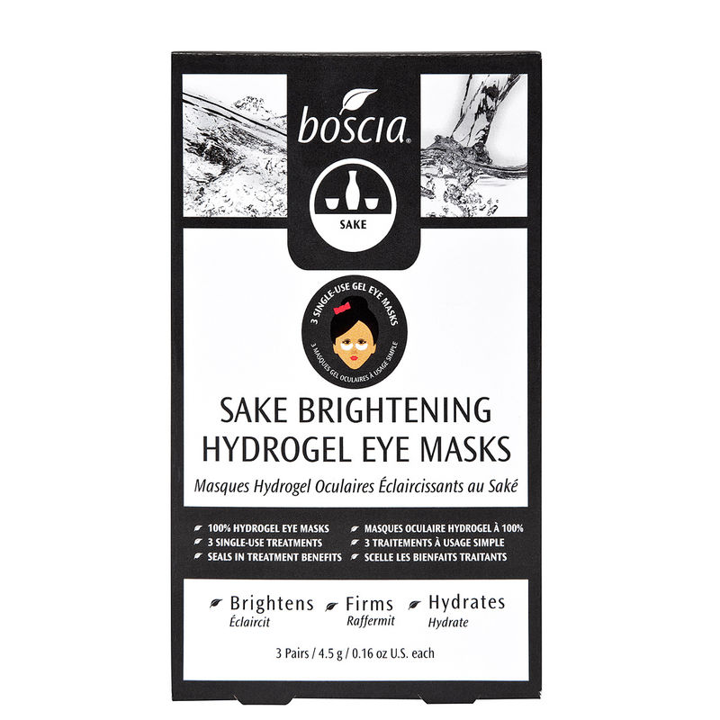 Sake-Based Eye Masks