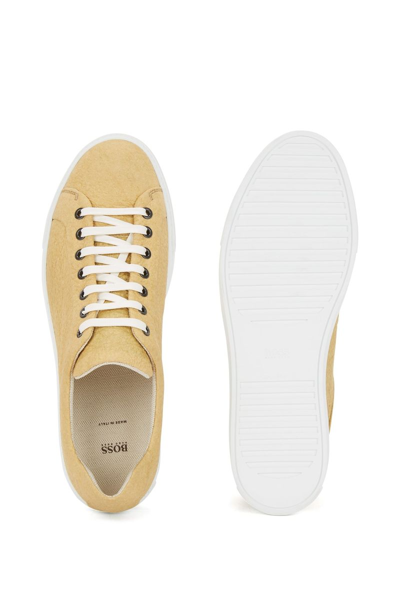 Pineapple Leather Sneakers