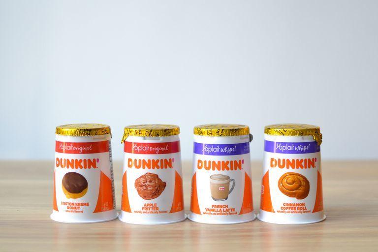 Donut-Flavored Yogurts